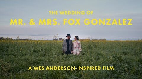 Wes Anderson-Inspired Wedding | The Wedding of Mr & Mrs Fox Gonzalez